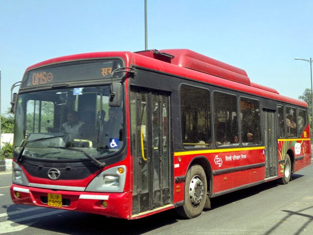 DTC Low Floor Buses in Delhi