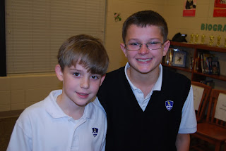 Gooslin, O'Connor and Petters to Represent Montgomery Catholic at County Spelling Bee 2