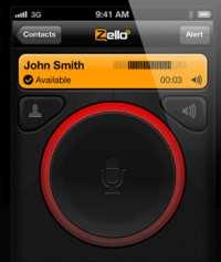 cellulare walkie talkie