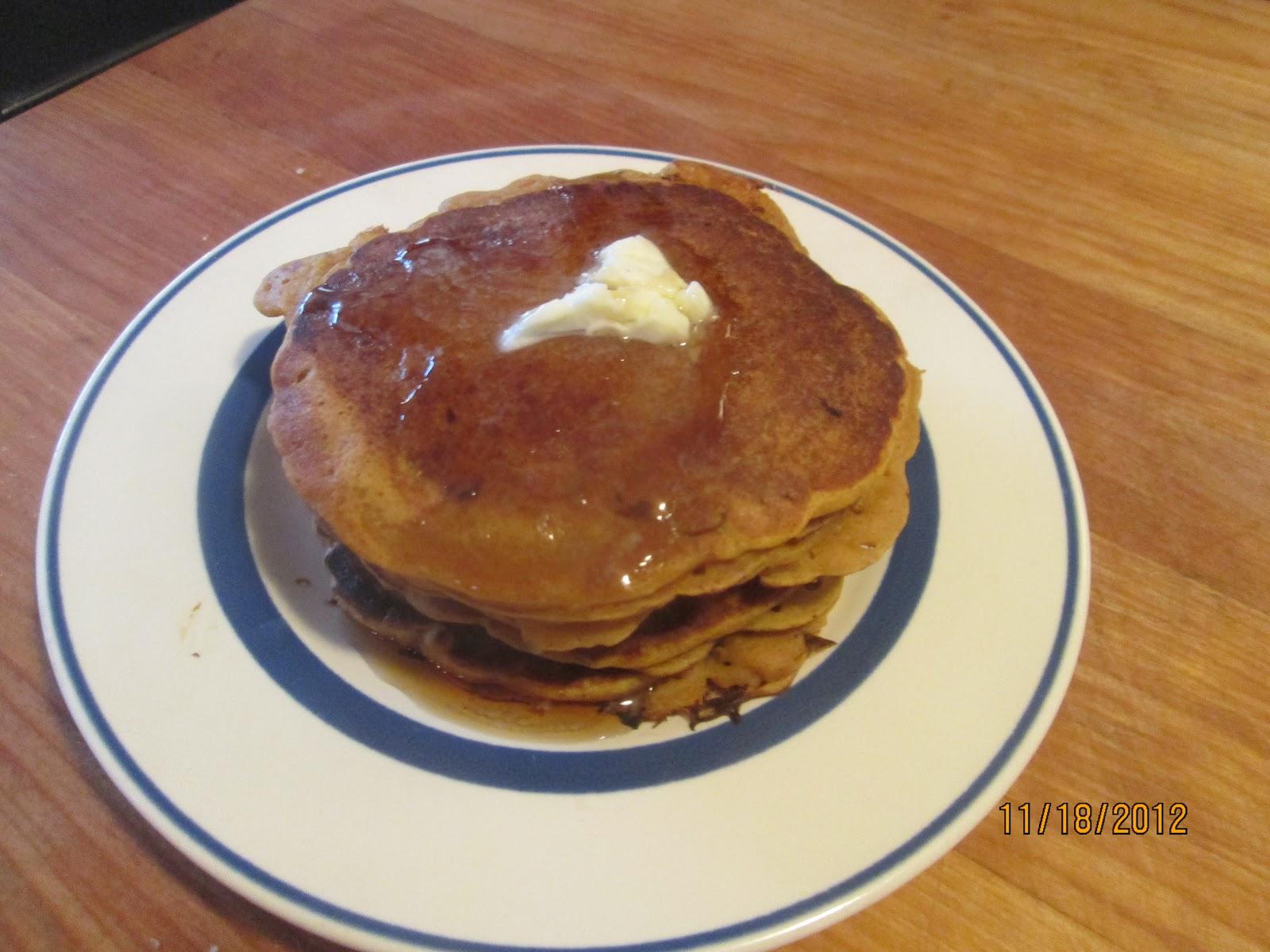 Cooking with Barry & Meta: Pumpkin-Pecan Pancakes