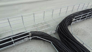 Cable Tray Junction and DC Cables