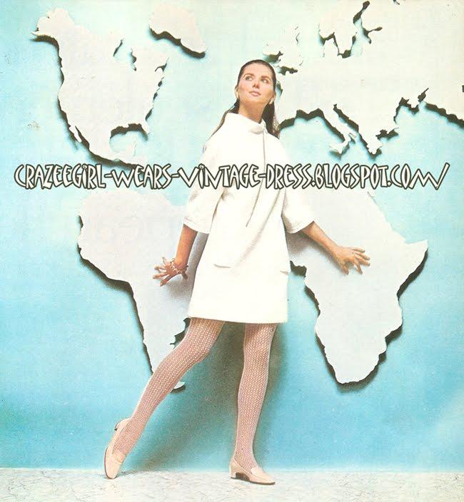 white dress - 1969 60s 1960