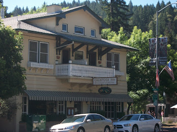 One of many quaint Calistoga Inns