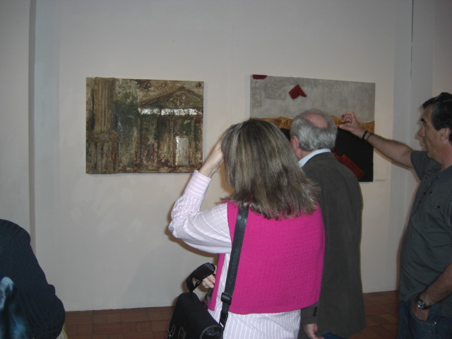 Presenting the exhibition