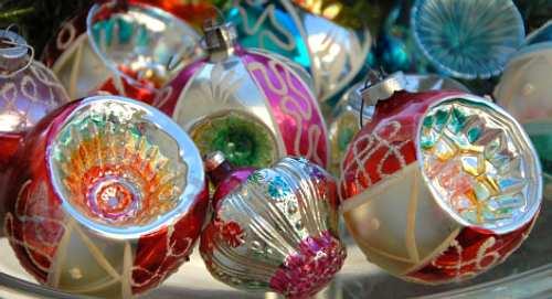 Traditional Glass Christmas Tree Ornaments : Splendid crystals czech republic traditonal glass