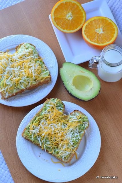 Avocado Open Sandwich