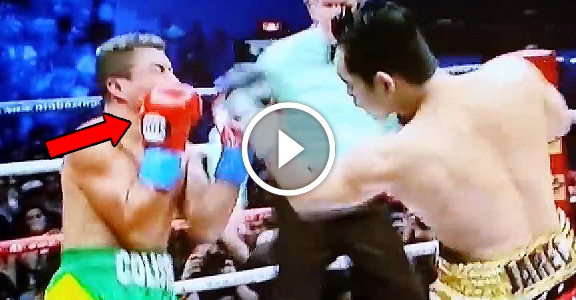 Nonito Donaire Jr. DESTROYS William Prado in 2nd Round TKO (VIDEO)