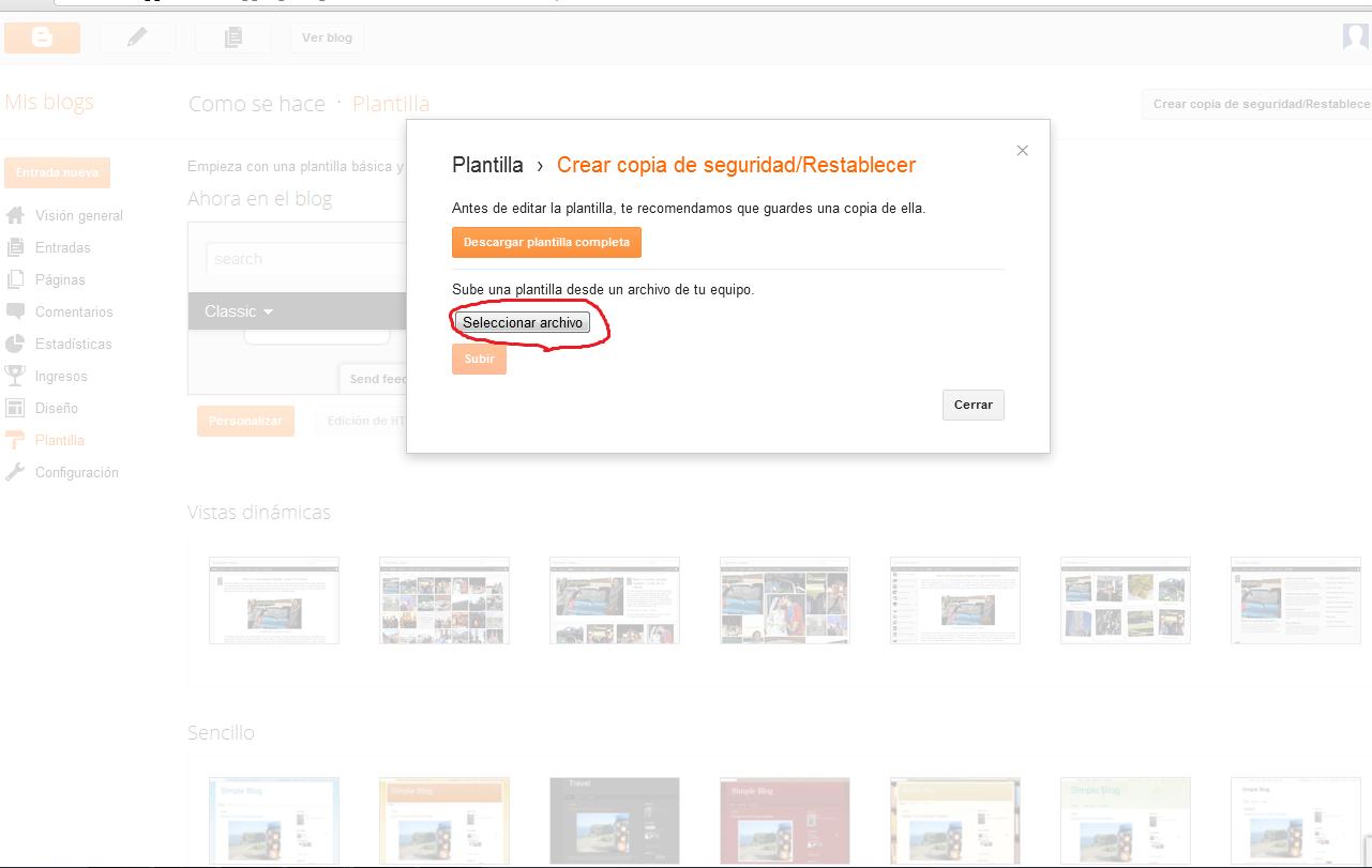 Contemporáneo Plantilla Blogger Xml Galería - Ejemplo De Currículum ...