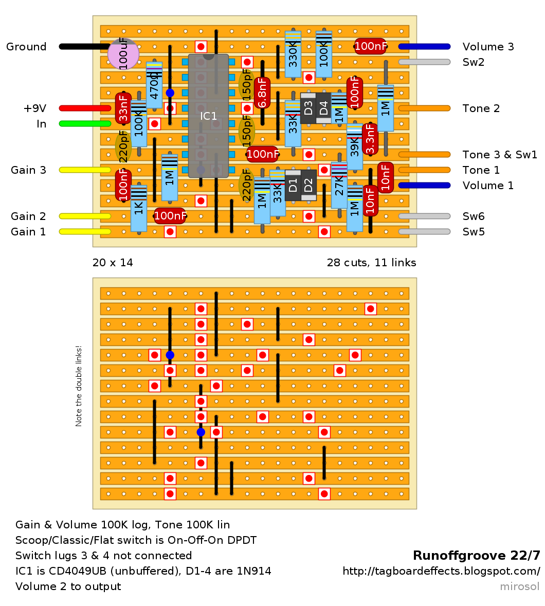 guitar fx layouts december 2012 rh tagboardeffects blogspot com Battery Wiring Diagram Battery Wiring Diagram