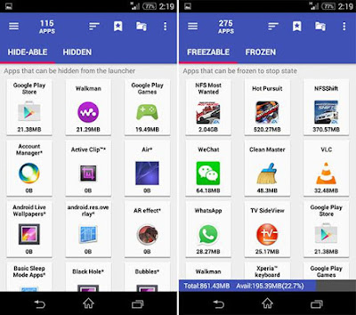 AppMgr Pro III (App 2 SD) v3.70 APK Android