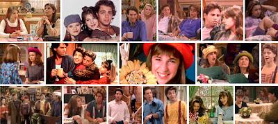 Escenas de la serie americana de los 90 Blossom