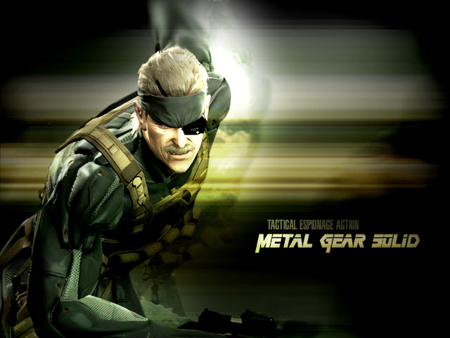 metal gear solid 4 guns of the patriots konami action shooter game