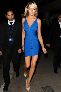 Abbey Clancy Leggy Candids