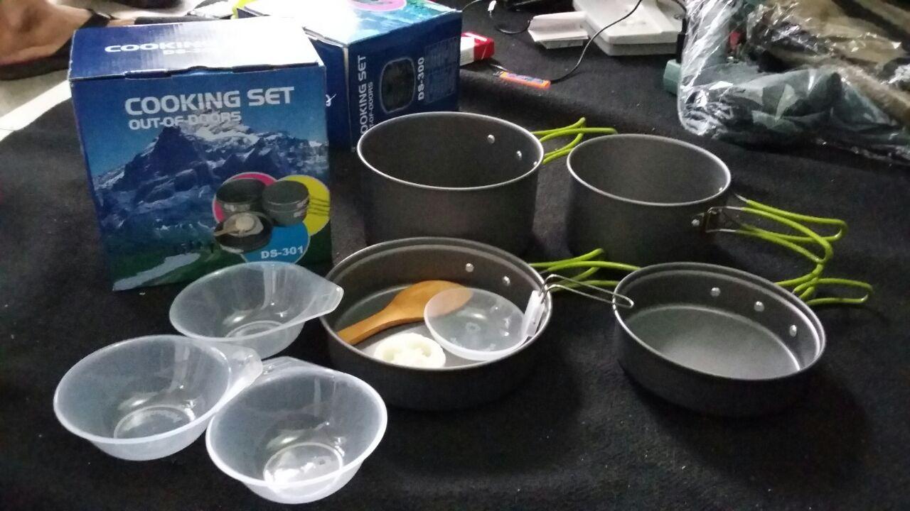 Cooking Set Alat Masak Camping Consina Daftar Harga Terbaru 4pcs Glucklich Nesting Ds 301