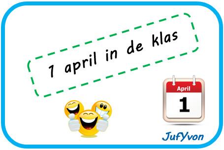 1 april grap op school