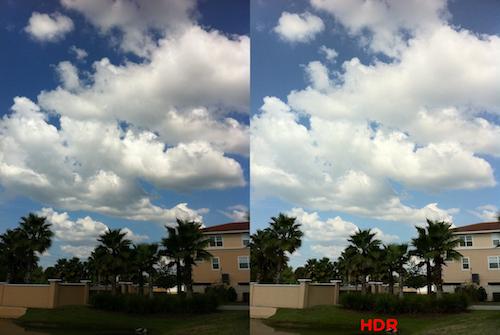 iPhone Resim Çekerken HDR uygun çekin