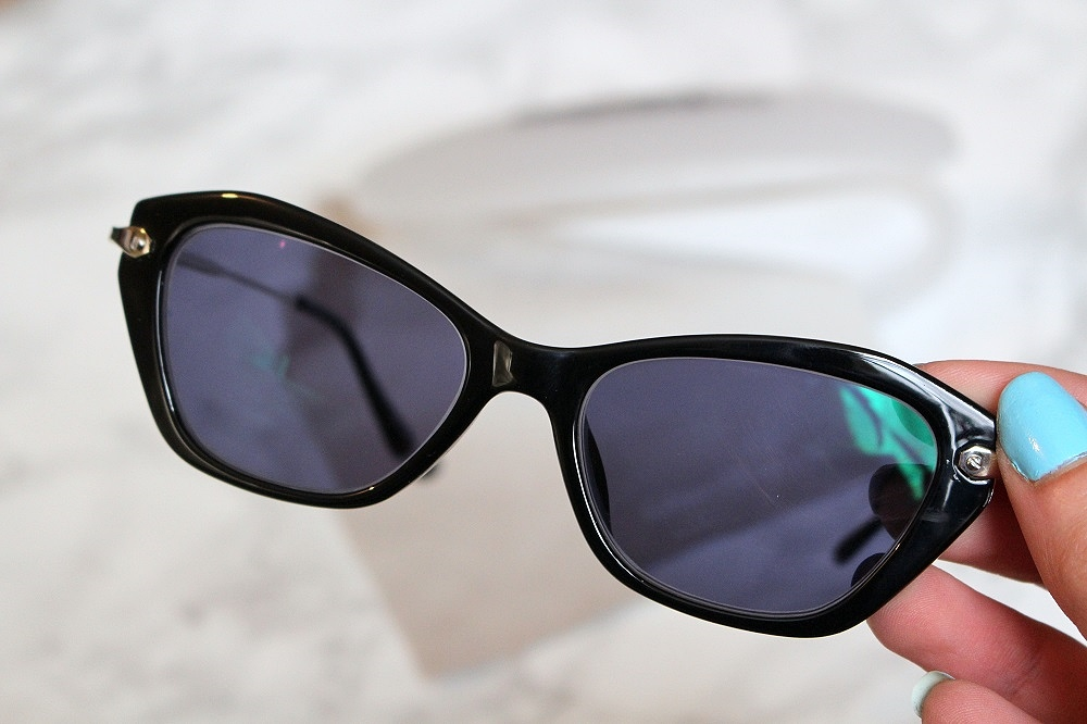peexo fashion blog new in sunglasses cat eye frame prescription sunglasses