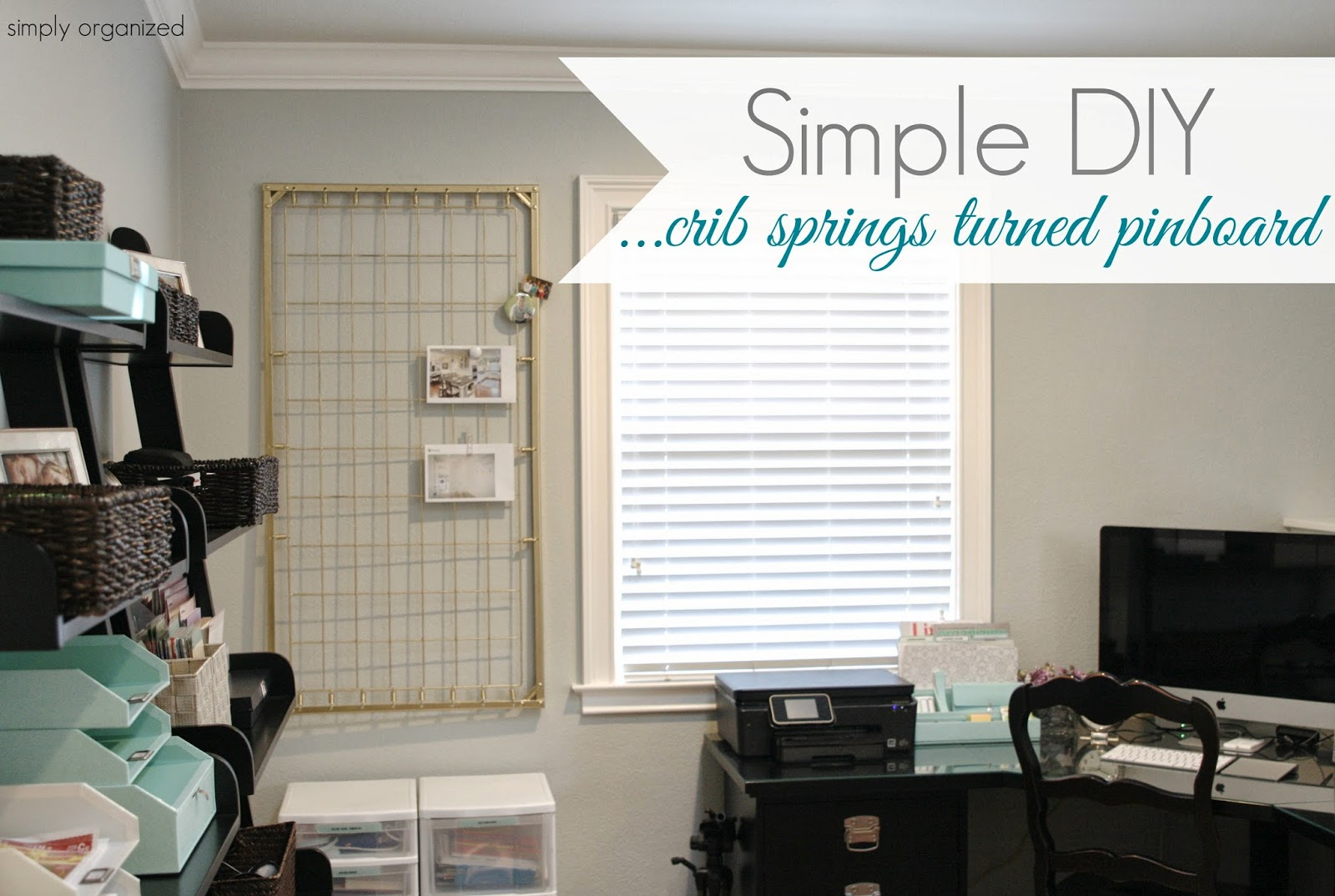 simply organized home office. operation organization from simply organized home office 2
