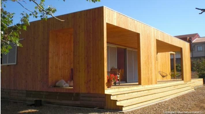 Planos de casas peque as planos de una casa de una planta for Casas prefabricadas mediterraneas