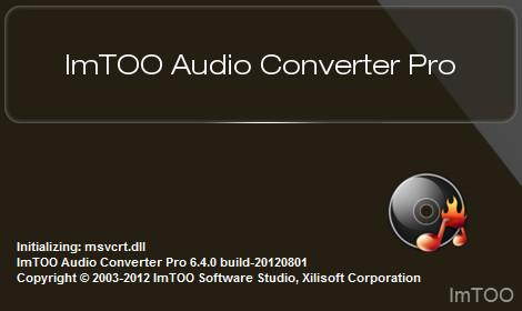 ImTOO Audio Converter Pro 6.5