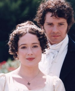 where do darcy and elizabeth first meet
