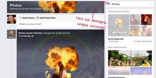 9 Perbedaan dari News Feed Facebook Yang Baru