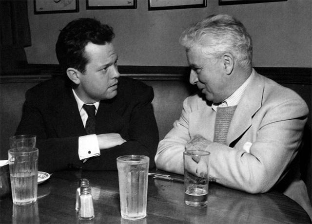 Orson Welles Charles Chaplin