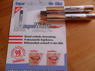 Test Bewertung Erfahrungsbericht Whitening Pen SuperWeiss