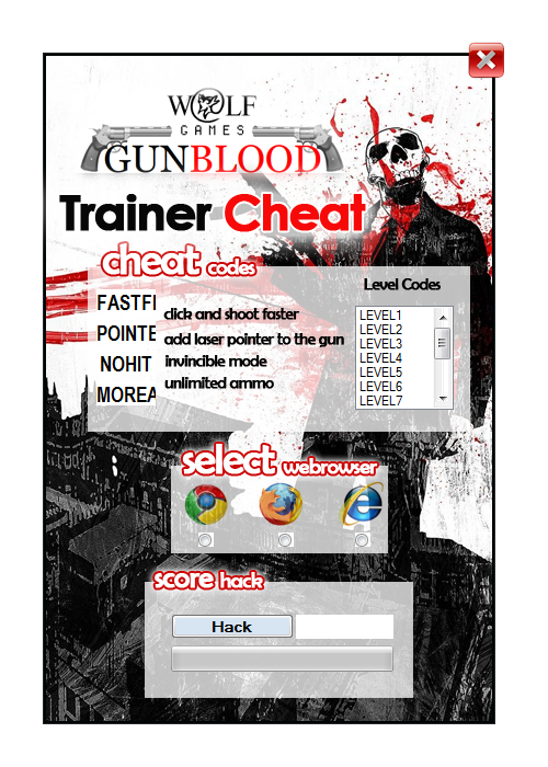 Superb gunblood cheat trainer hack