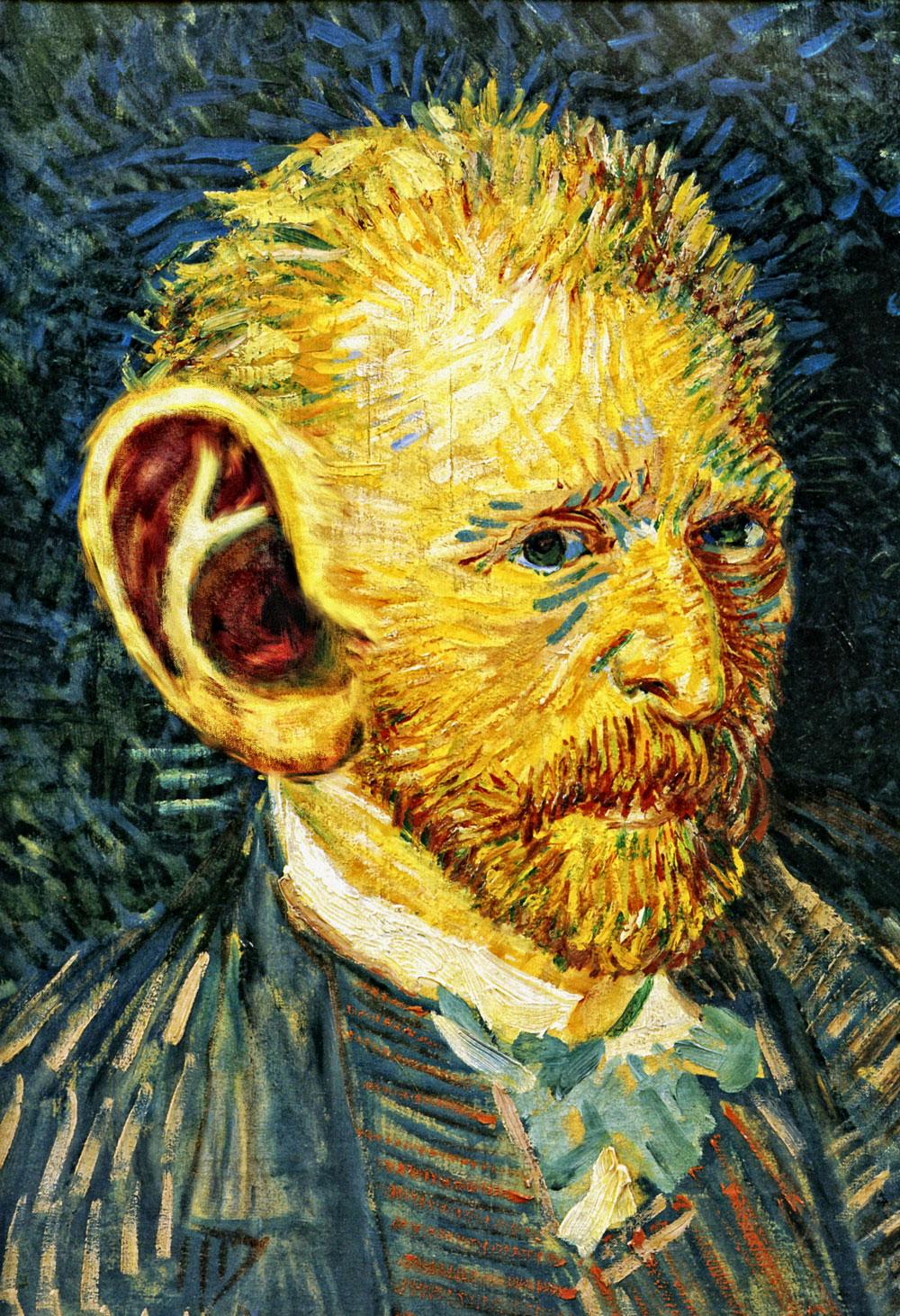 L 39 oreille coupee de van gogh mo cani l 39 od onie - Vincent van gogh autoportrait a l oreille coupee ...