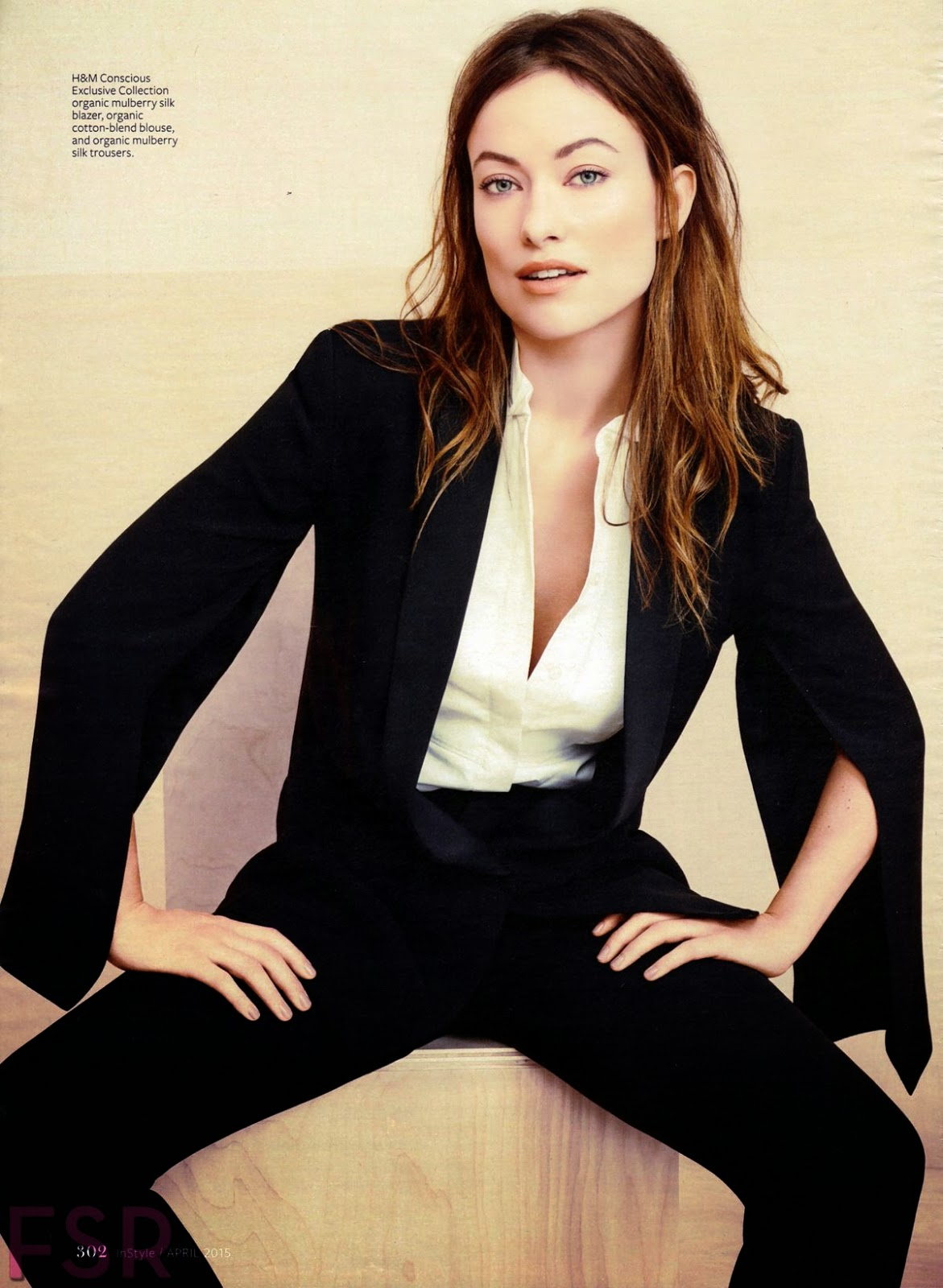 Actress, Producer, Model @ Olivia Wilde - InStyle USA, April 2015