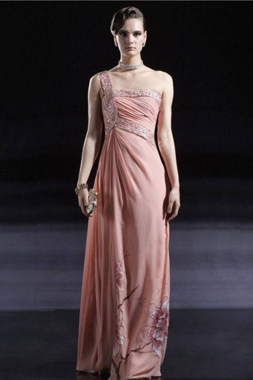 Dress to surprise december 2012 for Floor touch gown
