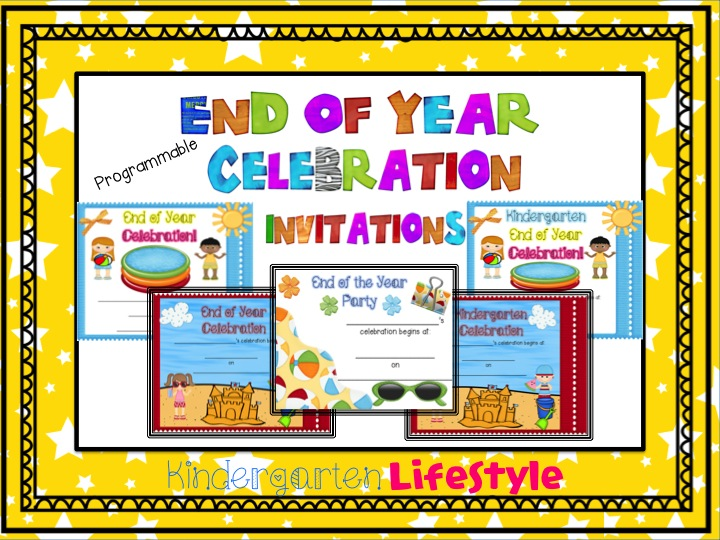 freebielicious end of year celebration invitations