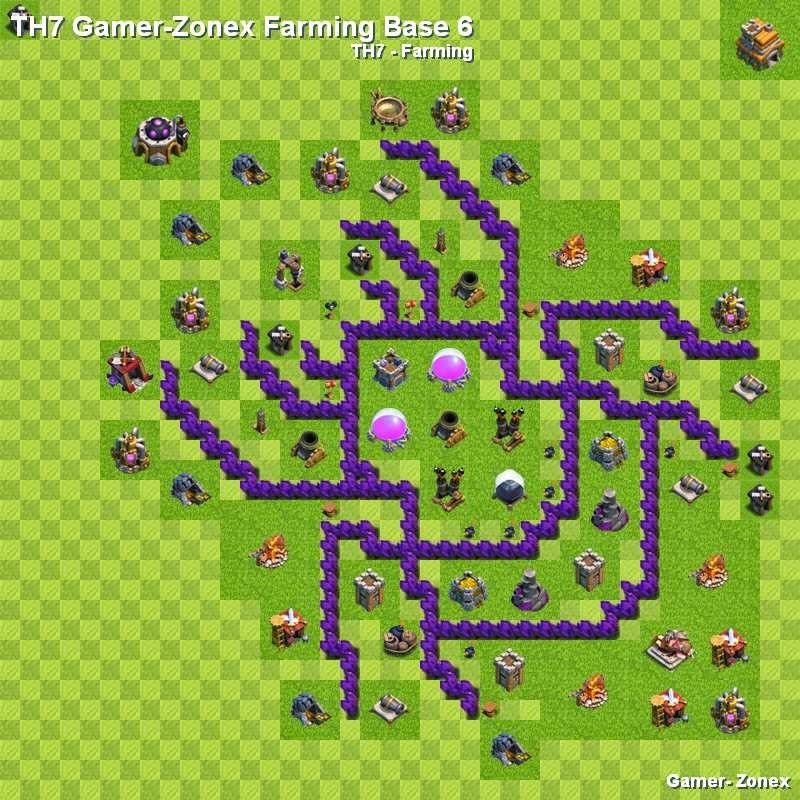 TH7 Gamer-Zonex Farming Spider Base 6