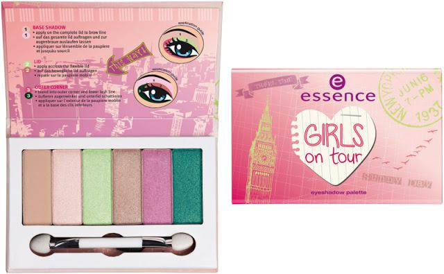essence girls on tour – eyeshadow palette
