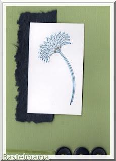 SU Blume grün-blau