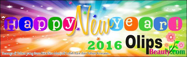 Olips Beauty - Selamat Tahun Baru 2016