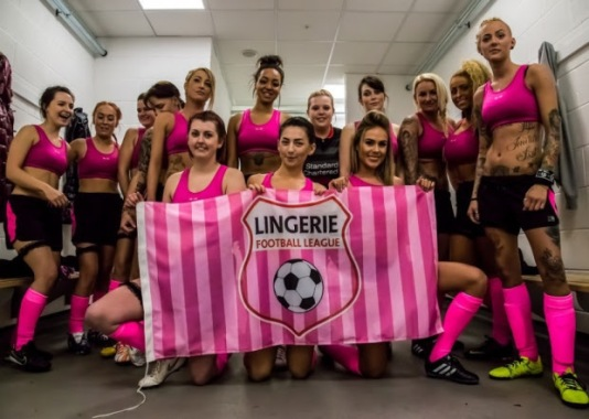 Men, get ready for 'Lingerie Football League'