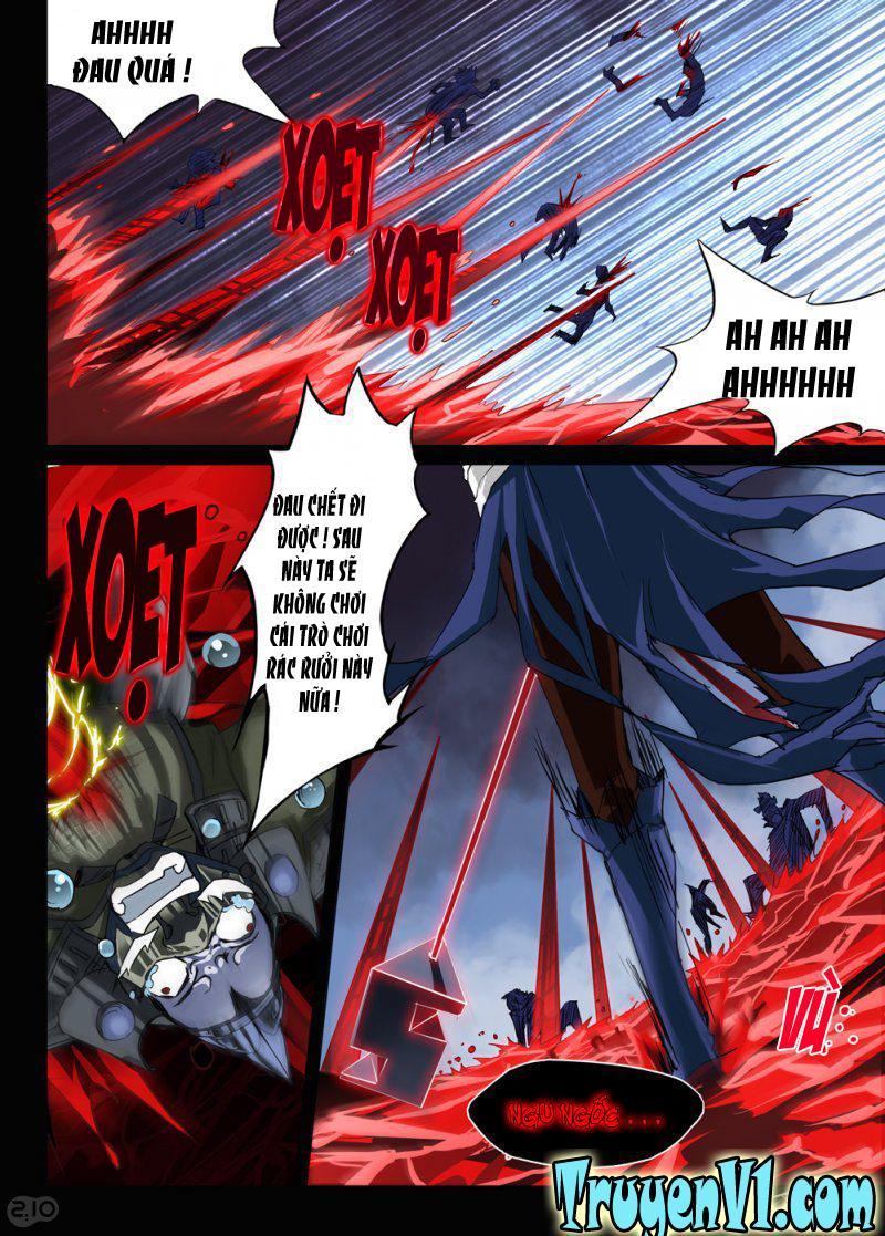 Ngân Chi Thủ Mộ Nhân Chap 32 Upload bởi Truyentranhmoi.net