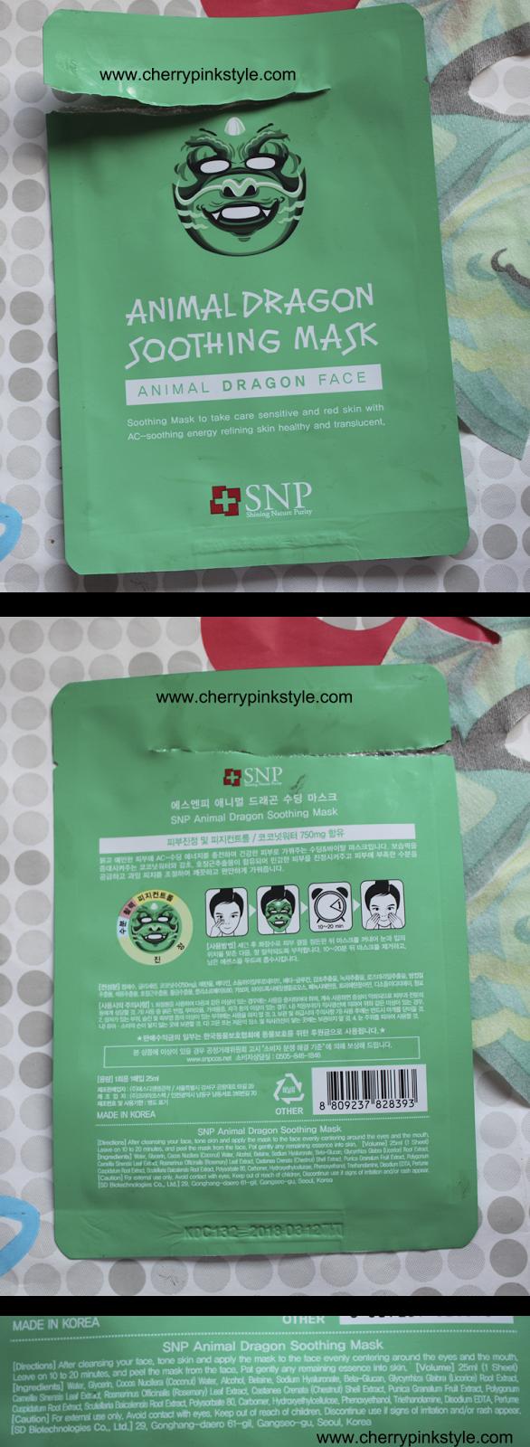 SNP Animal Mask