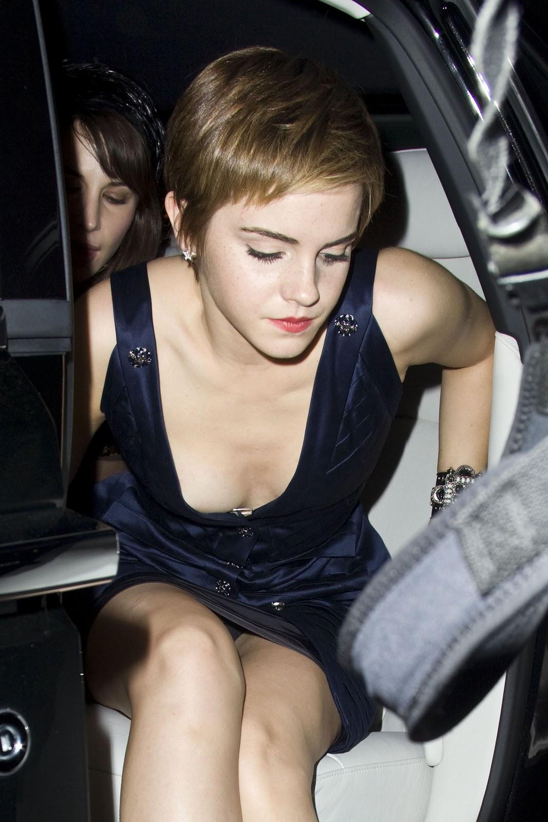 Emma Watson Wardrobe Malfunction | Emma Watson nip slip |