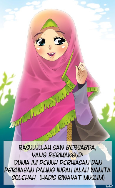 Gambar Wanita Islam Cartoons