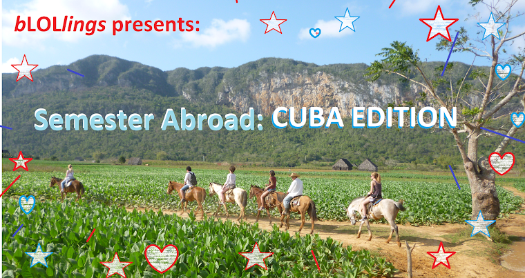 bLOLlings presents: STUDY ABROAD (AUSTRIA, HAVANA, MEXICO)