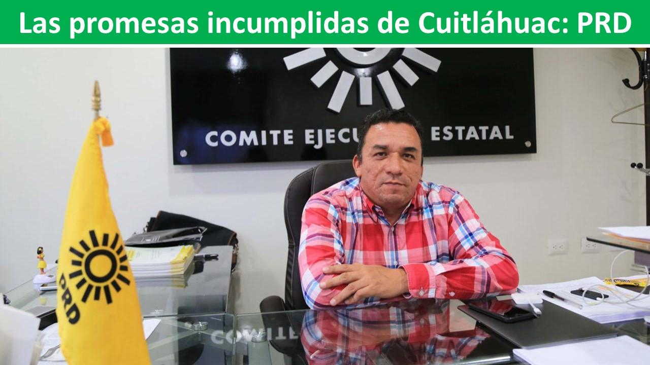promesas incumplidas de Cuitláhuac