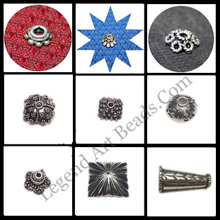 Wholesale sterling silver Bead Caps