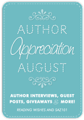 Author Appreciation August!