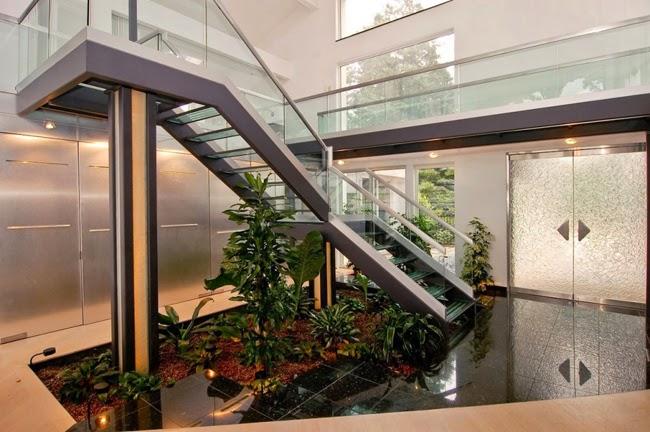 escada para o jardim:Jardim de Inverno – veja modelos, dicas e sugestões de quais planta