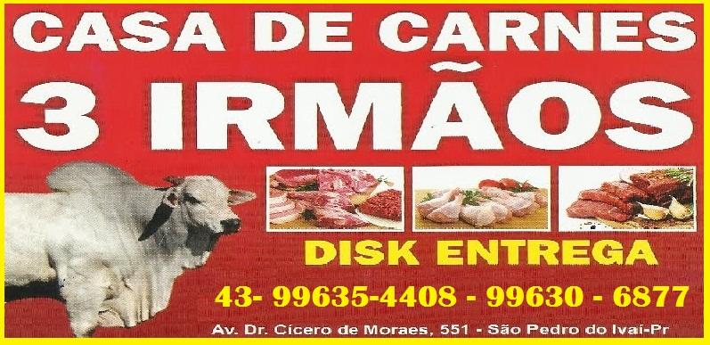 CASA DE CARNE 3 IRMÂOS EM SÃO PEDRO DO IVAÍ