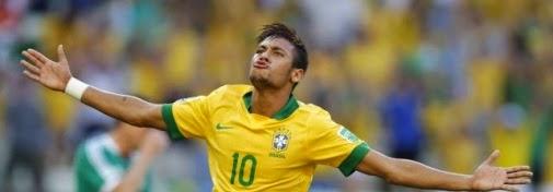 En el Mundial: Brasil comienza con victoria (3-1) con un doblete de Neymar