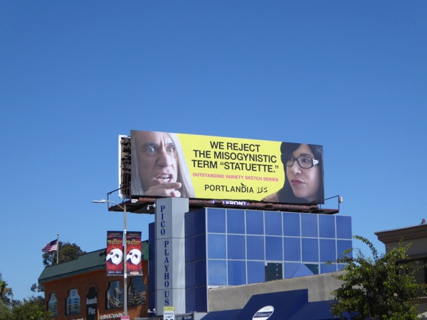 Portlandia 2015 Emmy nomination billboard